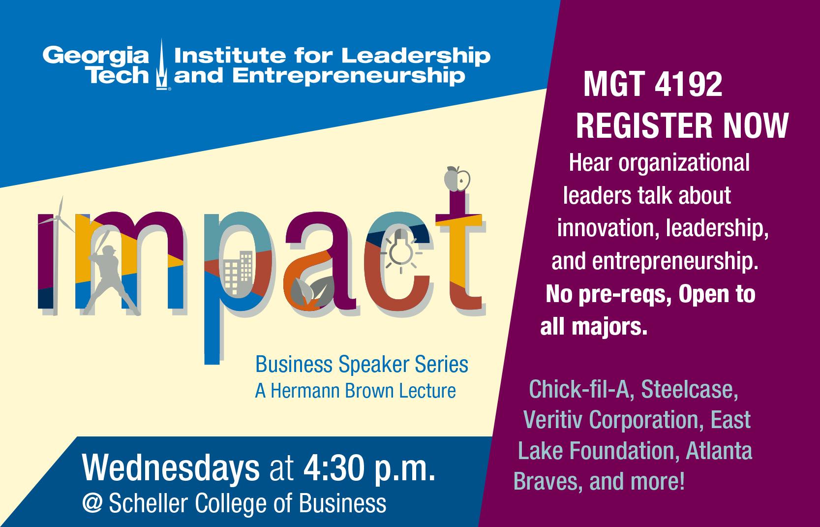 IMPACT Business Speaker Series