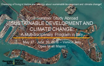 Sustainable Development and Climate Change Summer Study Abroad